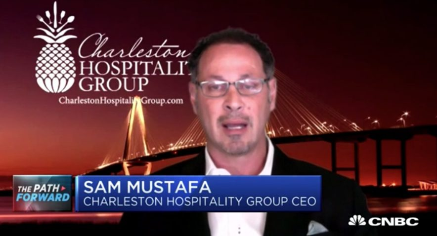 Charleston Hospitality Group, Sam Mustafa CEO on resuming indoor dining