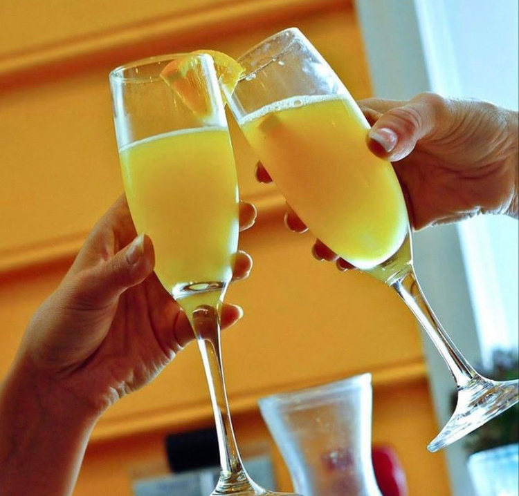 Bottomless Mimosas with Charleston Hospitality Group