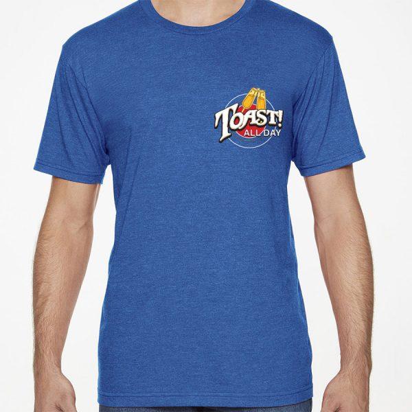 Toast! Hakuna T-shirt - Blue, Front