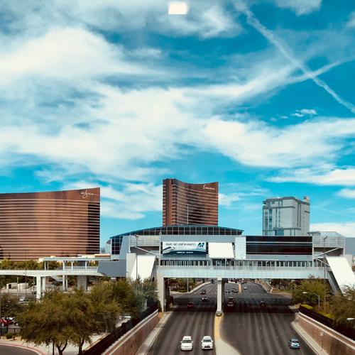 Greetings from Vegas!