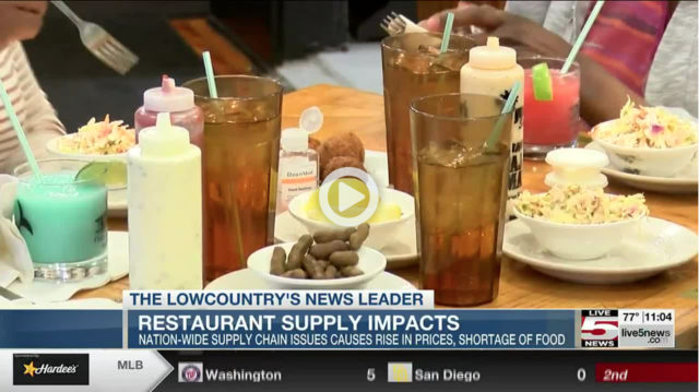 Lowcountry Restaurants Facing Supply Chain Issues